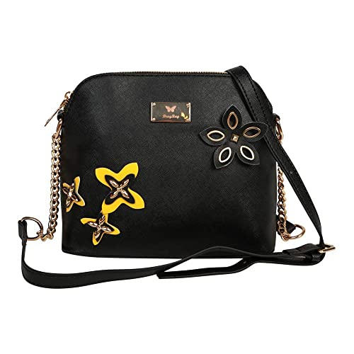 4f1de7ddb895 Brag Bag Small Leather Handbag For Women Mini Crossbody Tassel Bag Womens  Shoulder Bag (Black
