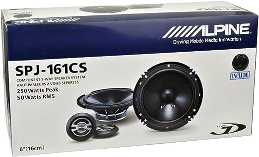 6 Alpine SPJ-161CS 2-WAY Car Audio Component Speaker System