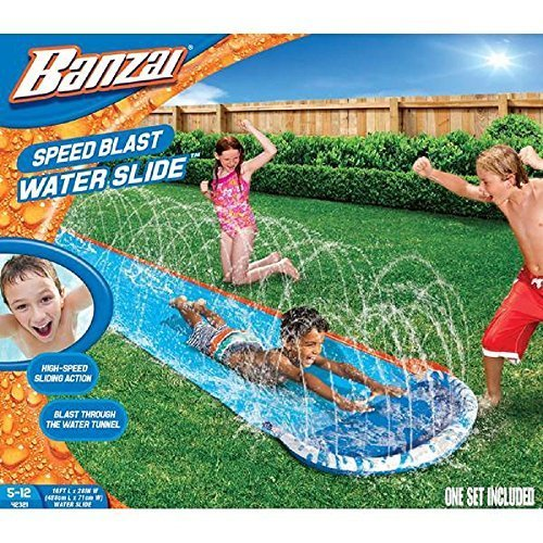 Banzai New and Improved Speed Blast Water Slide - 192