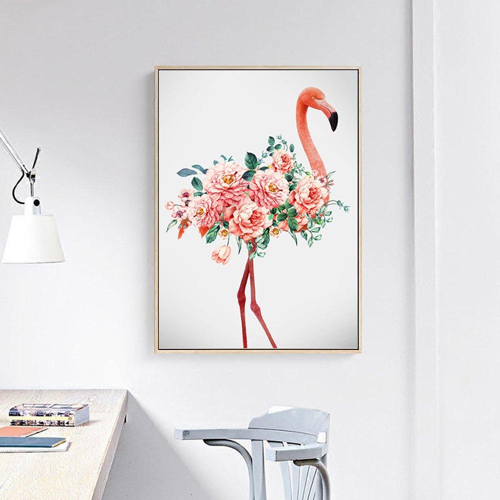 Flamingos(45x60cm)