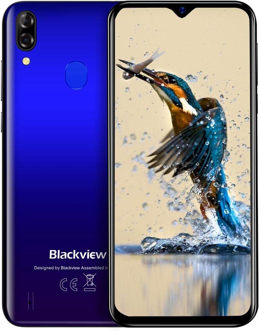 (2020) Blackview A60 Pro Android 9.0 4G teléfono móvil Libre, 3GB+16GB, 6.1
