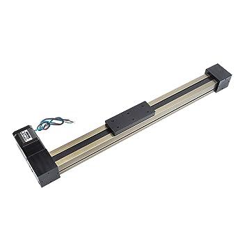 TEN-HIGH 100mm Cinturón de cuero de módulo de guía lineal de 3M con 17 Nema ...