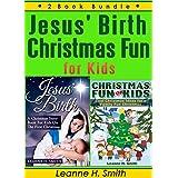 Jesus' Birth - A Christmas Story & Christmas Fun for Kids. 2 Book Bundle (Book Collection Compilation Bundle Set 1)