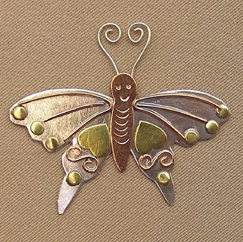 Puffin & Company Needle Nanny/Brooch - Butterfly