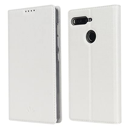 separation shoes 7572c ca5ed Oneplus 5T case,Feitenn OnePlus 5T Premium Flip Leather PU Wallet Smart  Case Stand Kickstand Card Holder Magnetic Silicone Clear TPU Bumper Slim  Thin ...