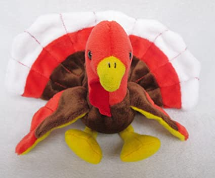 f578ff3e4c6 Image Unavailable. Image not available for. Color  New Ty Beanie Baby  GOBBLES Turkey Bird ...