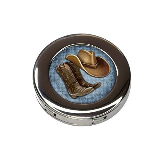 Sombrero de vaquero y botas país plegable bolso de mano ...