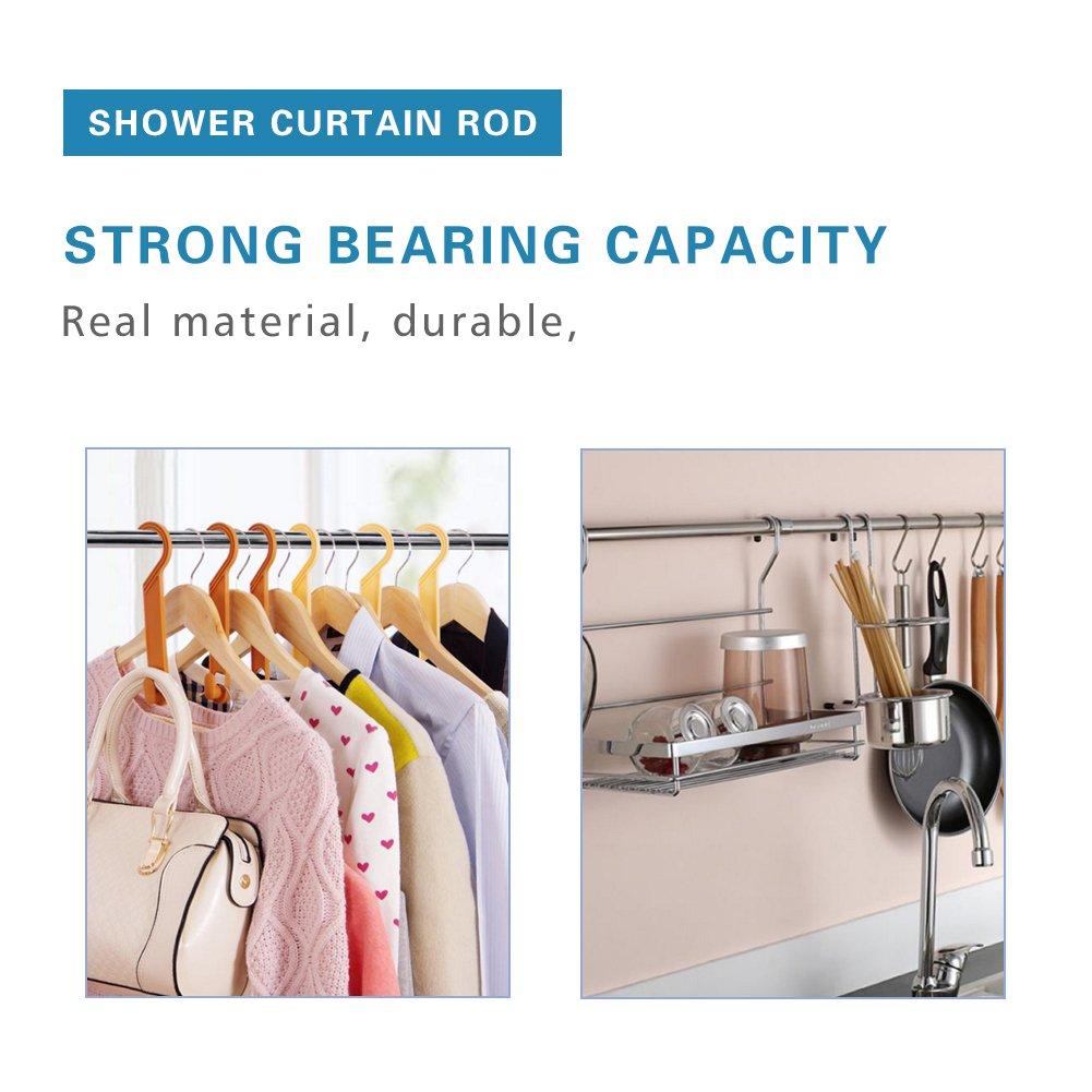 RH Art Adjustable Tension Shower Curtain Rod