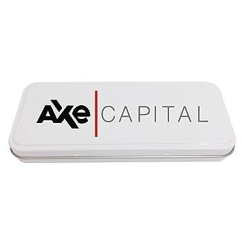 Axe Capital - Estuche de papelería personalizable, color ...