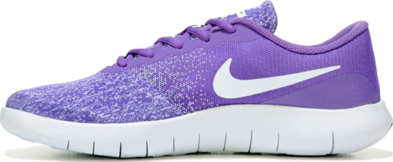 9d2bace3c1 Amazon.com | Nike Kids Flex Contact (GS) (7 M US Big Kid, Hyper Grape/White-Purple  Agate) | Running