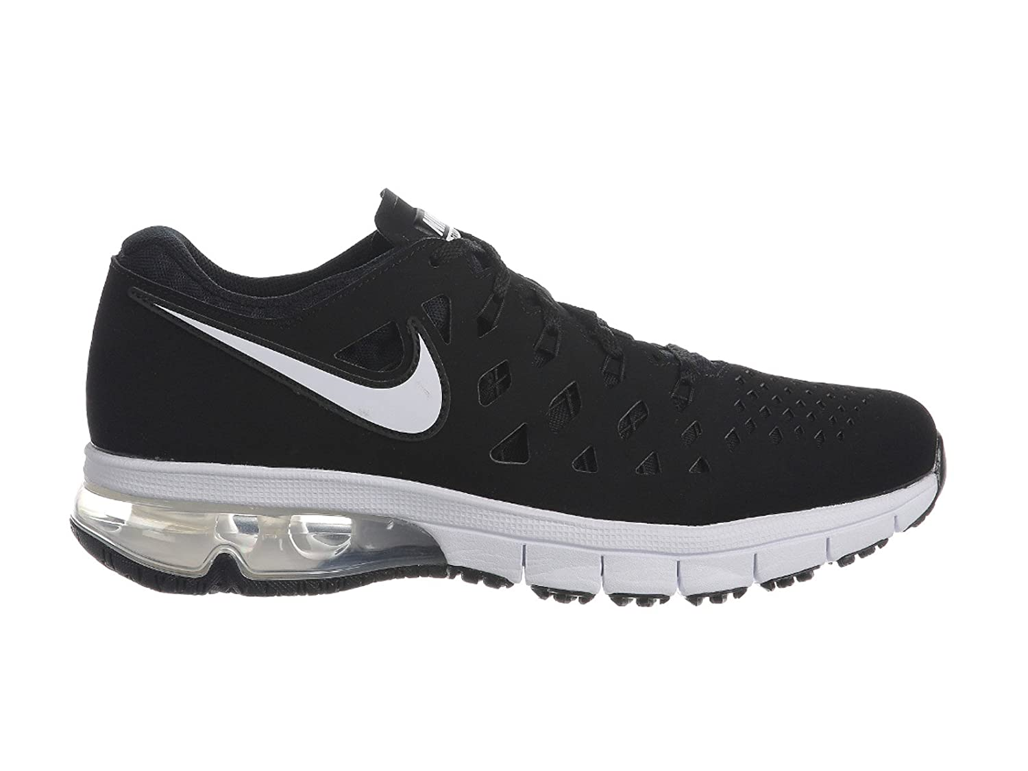 NIKE Mens Air Trainer 180 Synthetic Cross-Trainers Shoes B07211TD6M 8.5 D(M) US|Black/White-black