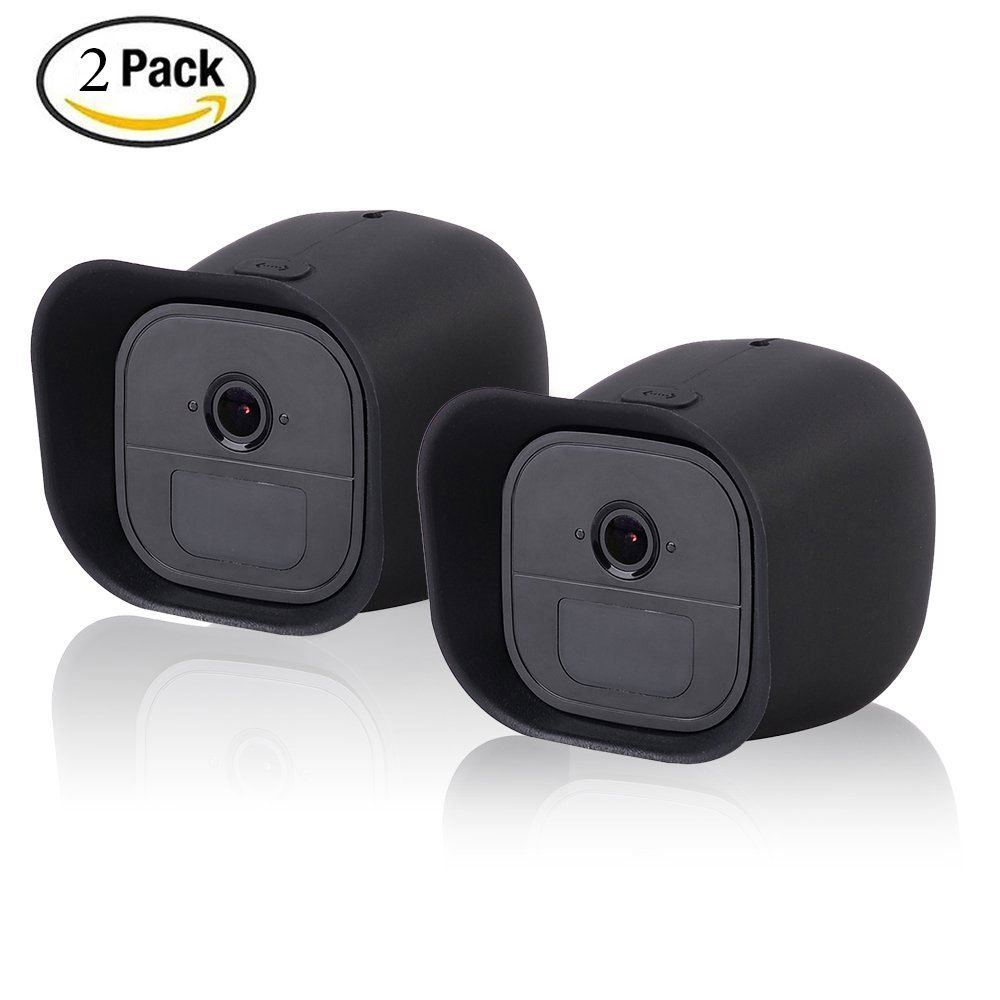 Protective Skins for Arlo Go by HOLACA 2 PACK Silicone Case Cover for Arlo Go Mobile HD Wireless Free Camera Arlo Go Smart Security (2 PACK Case)