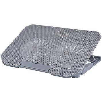 LDFN Disipador De Calor Portátil 13.3 Pulgadas Fan Silent Base Cooling Pad Ventilador Enfriador del Refrigerador del Ordenador Portátil Soporte para Laptop ...
