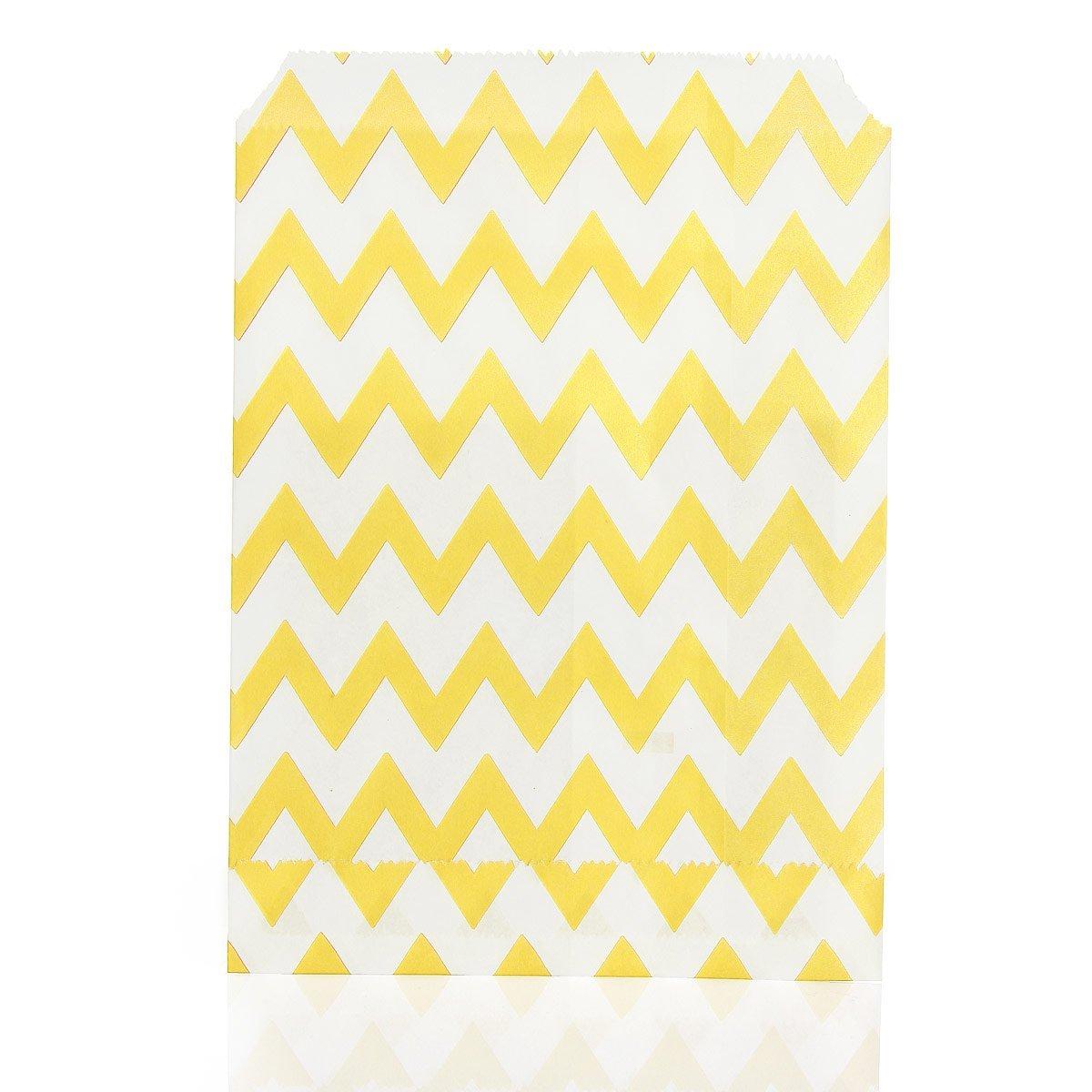 TOOGOO(R) 25 x Sacchetti di caramella di spettacolo di stripe SHOMAGT12225