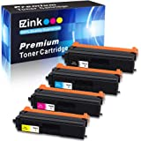 E-Z Ink (TM) Compatible Toner Cartridge Replacement for Brother TN-433 TN433 TN431 High Yield To Use With HL-L8260CDW HL-L8360CDW MFC-L8900CDW (1 Black, 1 Cyan, 1 Magenta, 1 Yellow, 4 Pack)