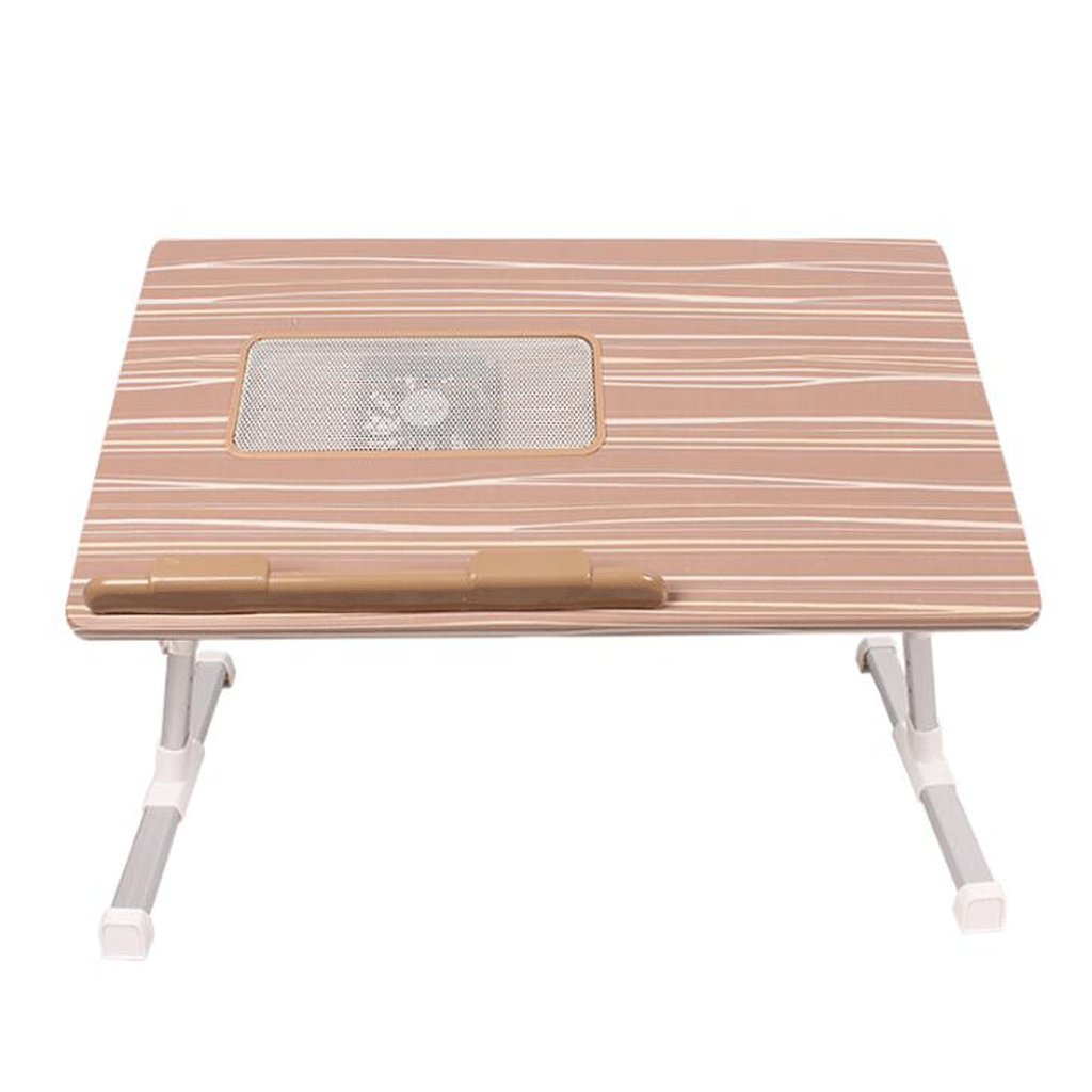 GAOLILI ラップトップテーブルは、テーブルでテーブルを折りたたむ単純な学習デスクデスクレイジードミトリー学生学習テーブル小さなテーブル簡単なベッドテーブルデスクトップを大きくする大きなスペース回転デスクトップ (色 : ブラウン ぶらうん) B07DNRS7ZF ブラウン ぶらうん ブラウン ぶらうん