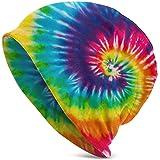 TooLoud Rainbow Tie Dye Galaxy Adult Fleece Beanie Cap Hat All Over Print