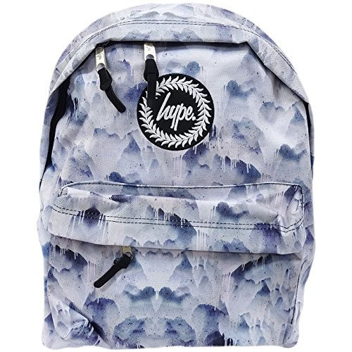 Hype Hype bag (Liquid Mountains) Multi, Borsa a spalla uomo nero Multi Taglia unica