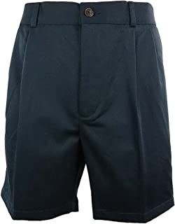 Roundtree & Yorke Big&Tall Men's Easy Care Pleated Front Dress Shorts