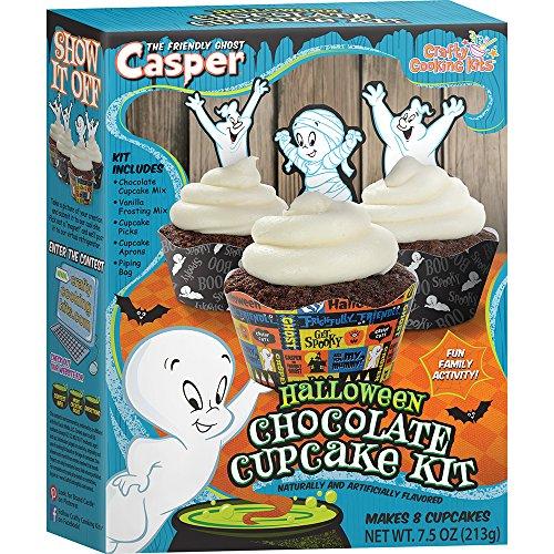 Crafty Cooking Kits Casper Halloween Cupcake Kit, Chocolate, 7.5 Ounce