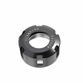 ER25 M type Collet Clamping Nut for CNC Milling Collet Chuck Holder Lathe