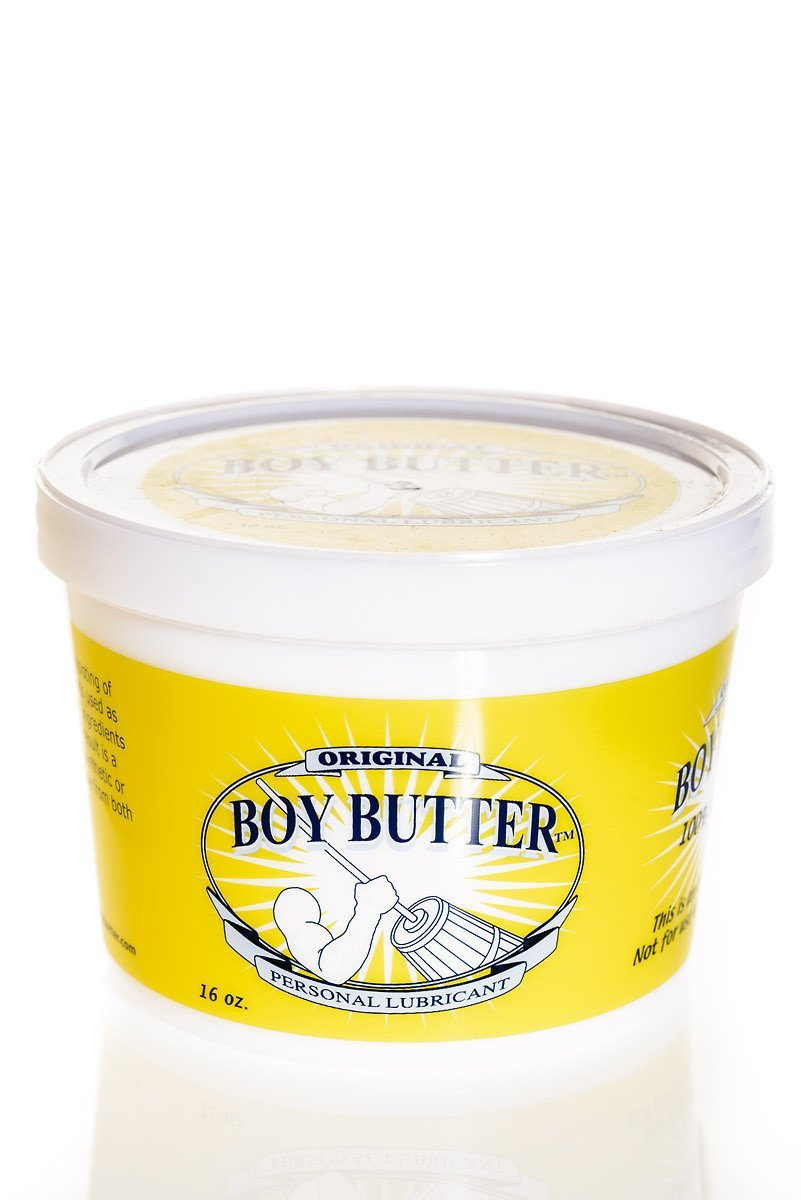 Boy Butter Personal Lubricant, Original Formula (16 Oz. Tub)