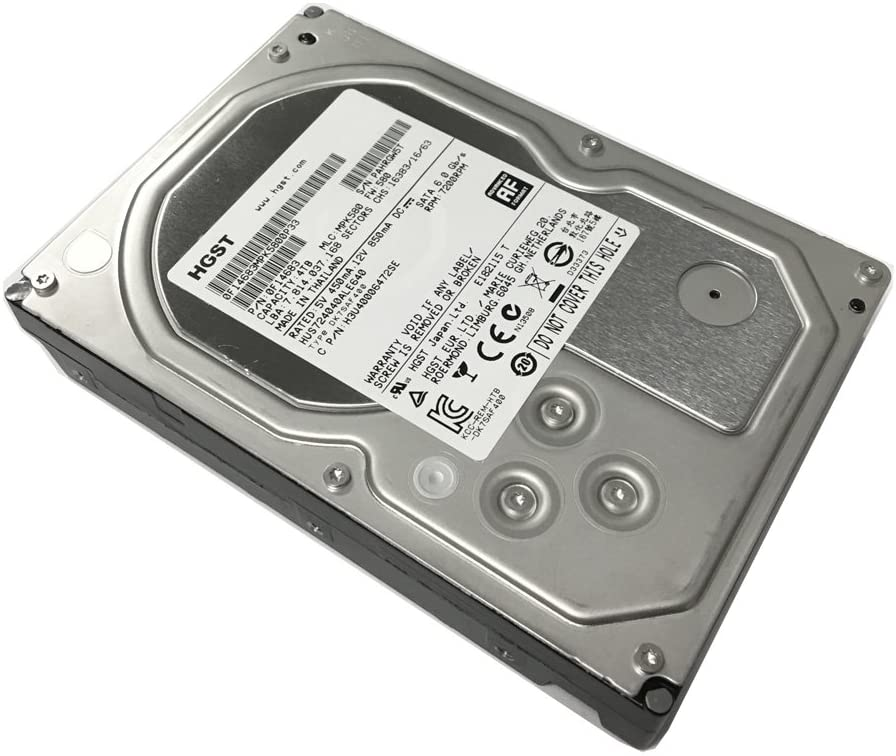 HITACHI 0F14683 Ultrastar A7K4000 4TB 7200 RPM 64MB cache SATA 6.0Gb/s 3.5 internal hard drive (Bare Drive)