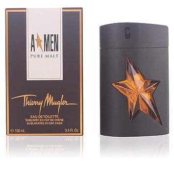 2a6c66901 Amazon.com : Angel Men Pure Malt by Thierry Mugler Eau De Toilette Spray  (Limited Edition) for Men, 3.40 Ounce : Beauty