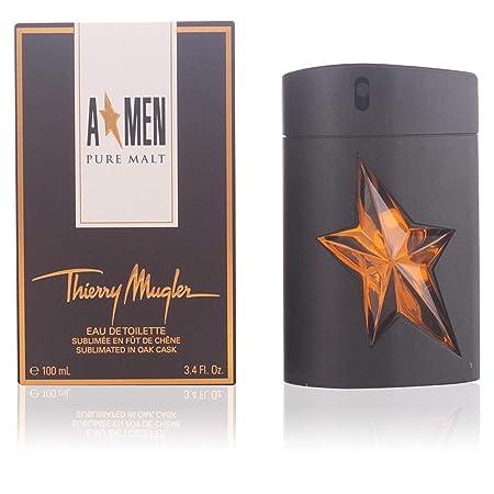 Angel Men Pure Malt by Thierry Mugler Eau De Toilette Spray Limited Edition for Men, 3.40 Ounce