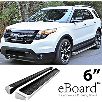 EBoard Running Boards Silver 6 For 2011 2017 Ford Explorer Sport Utility 4
