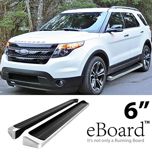 eBoard Running Boards Silver 6