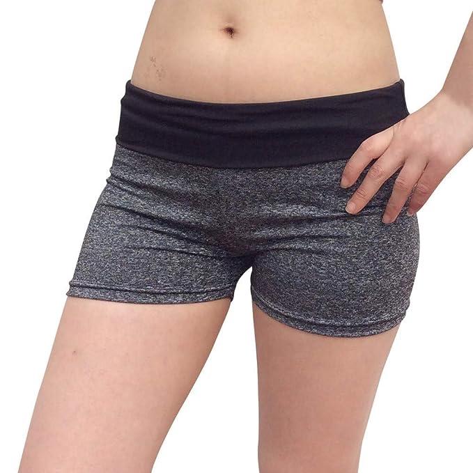 Amazon.com: POHOK Pantalones de yoga de secado rápido para ...