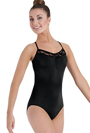 a5b1c272c4 Balera Leotard Girls One Piece For Dance Womens Halter Leotard With Lace  Back And Skinny Straps