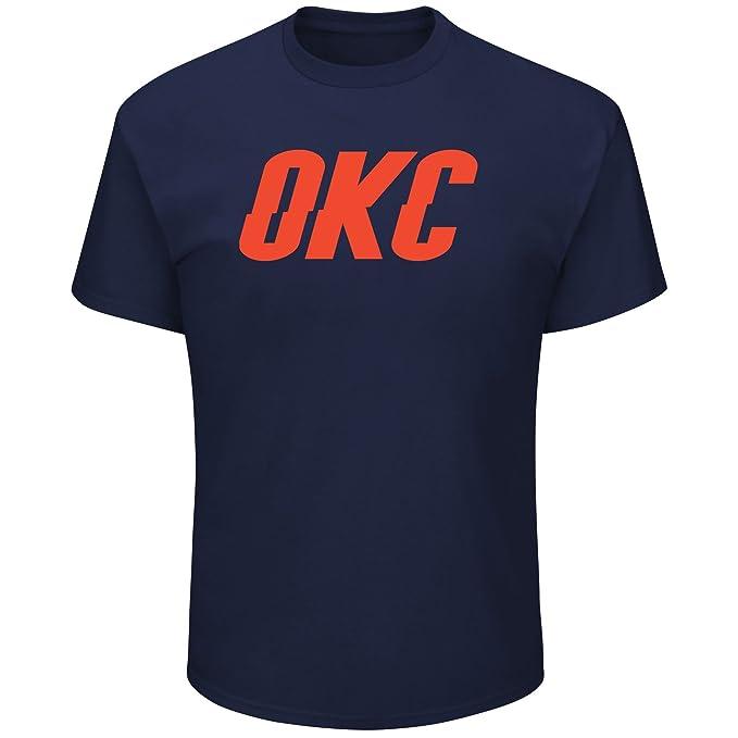 Paul George Oklahoma City Thunder # 13 suplente marca jugador de la NBA hombres camiseta Azul marino, Marino: Amazon.es: Deportes y aire libre