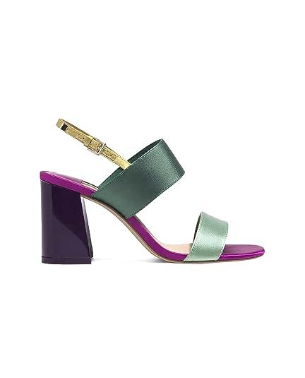 Stradivarius - Sandalias de Vestir de sintético para Mujer, Color, Talla 39 EU | 8 US | 6 UK: Amazon.es: Zapatos y complementos