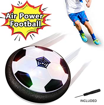 FAGORY Air Power Soccer Disc Hover Football con Parachoques de ...