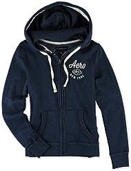 Aeropostale Womens Aero 87 Hoodie Sweatshirt