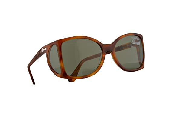 Persol 0005-S Gafas De Sol Marrón Con Lentes Verde Oscuro ...