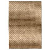 Carpet Art Deco Bay Club Collection Indoor Outdoor Rug, 5'3'' x7'5, Beige