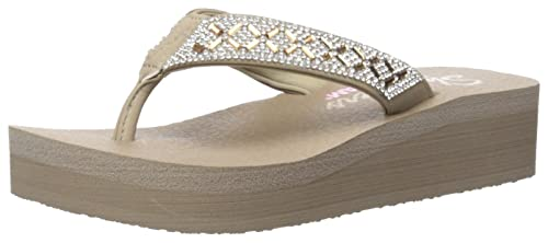 1fc8969b25b6 Skechers Women s Vinyasa-Lotus Princess Flip-Flop  Amazon.ca  Shoes ...