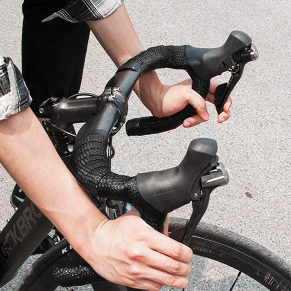Carbon Fiber Comfort GEL Road Bike Handlebar Tape Bike Bar Wrap @ami nyis12 ohyg