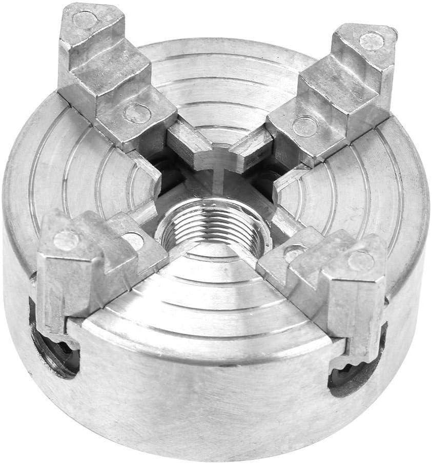 KSTE Z011A Zink-Legierung 4-Backenfutter Clamp Zubeh/ör for Mini-Metall-Drehmaschine