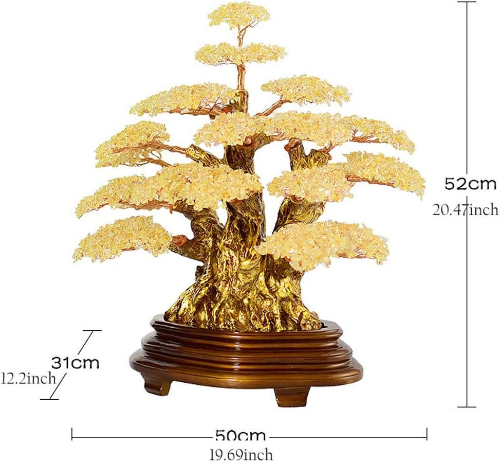 Amazon Com Feng Shui Luck Figurine Crystal Tree Natural Crystal Crystal Bonsai Fortune Money Tree For Good Luck Wealth Prosperity Home Office Decor Spiritual Gift Opening Gift Feng Shui Ornaments Home Decorati Home
