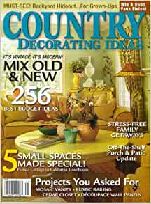 country decorating ideas magazine spring 2006 256 best