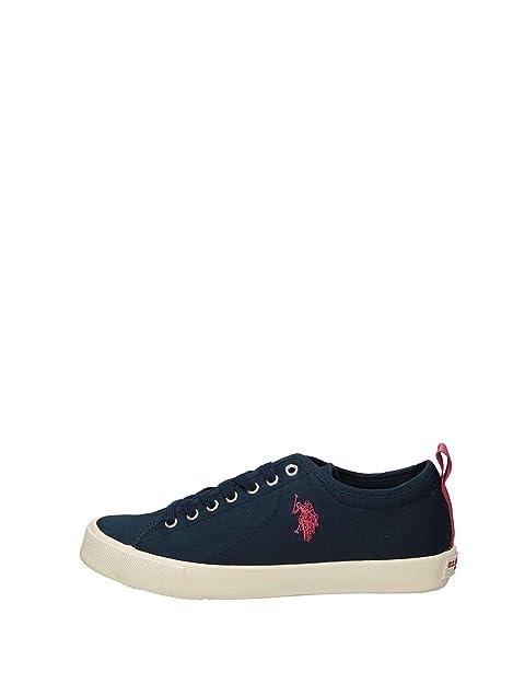 US Polo Tania - Zapatillas Bajas Mujer: Amazon.es: Zapatos y ...