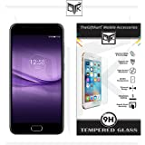 TheGiftKart Ultra Clear 9H Hard Anti-Burst HD Tempered Glass Screen Protector with Cleaning Installation Kit for Infocus Turbo 5 Plus (Transparent)