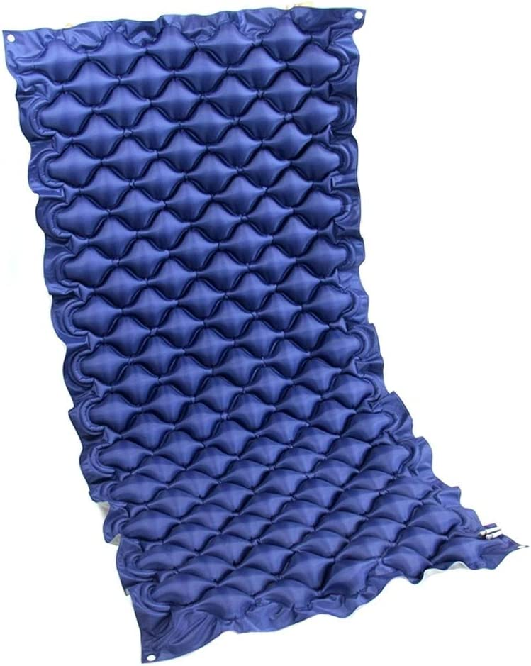 Colchón de aire antiescaras Diseño transpirable Ahorro de energía y Cojín de cuidado giratorio ambiental Adecuado para pacientes postrados en cama