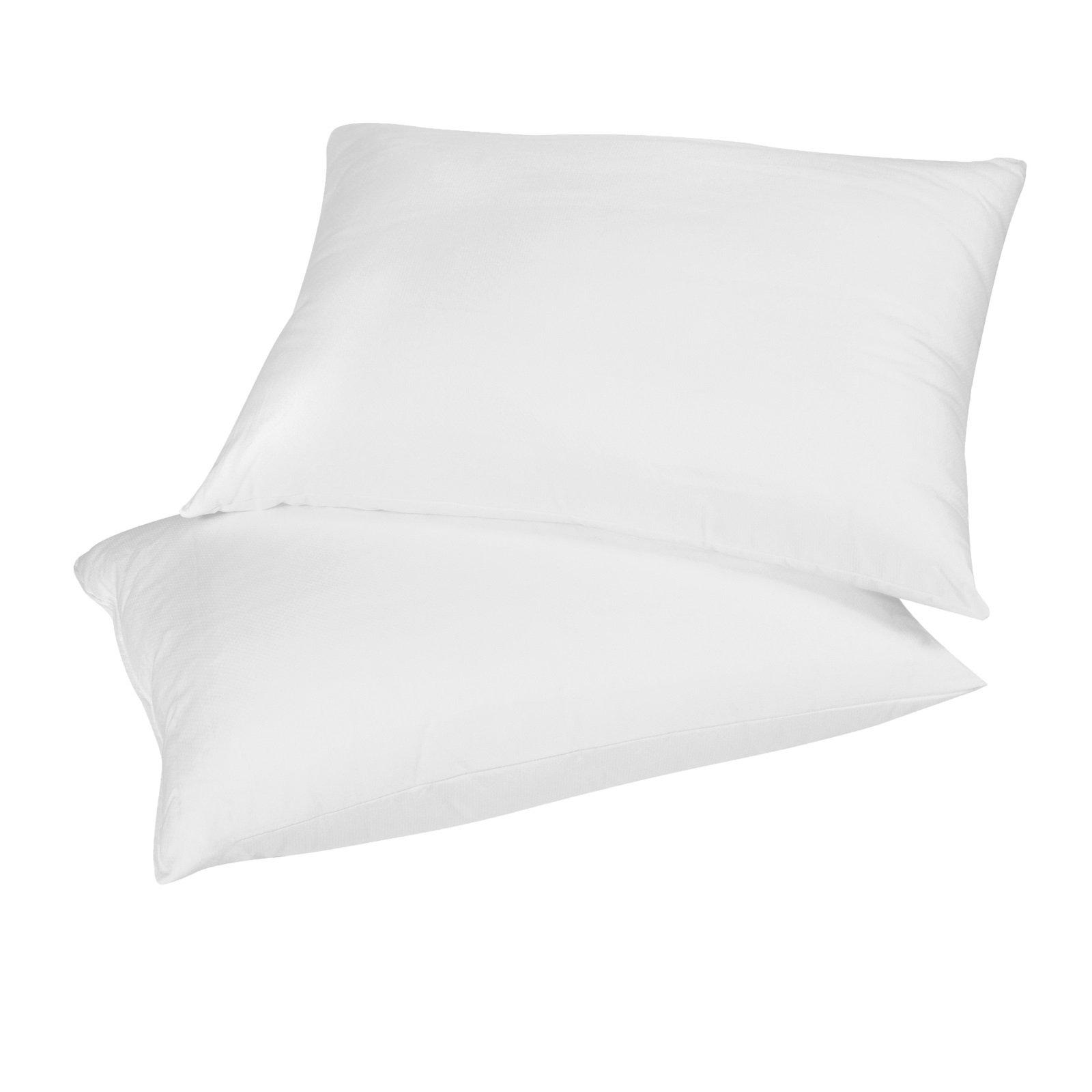 Empyrean Bedding Set Of 4 Premium King-Size Pillowcases Microfiber Linen, Hypoallergenic & Breathable Design, Soft & Comfortable Hotel Luxury – White