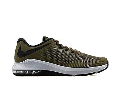 0e8435d45f Nike Air Max Alpha Men's Training Shoe, Olive Canvas/Black-Olive Flak Size