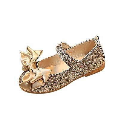 1119d9c7f4716 ガールズシューズ 子供 女の子 ブライトレザー 子供 レザー 花革靴 滑り止 め姫の靴